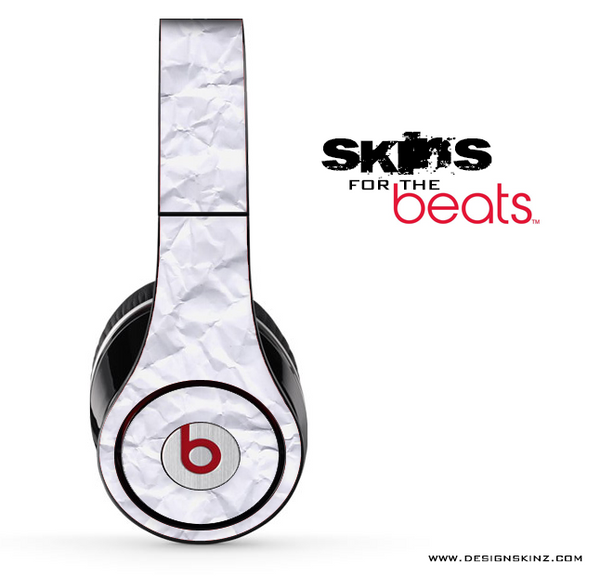 Crumpled Paper Skin for the Beats by Dre
