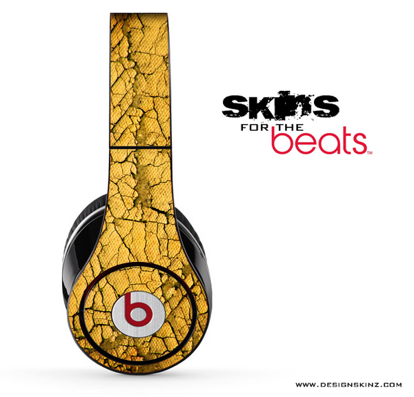 Yellow Cracked Skin for the Beats by Dre