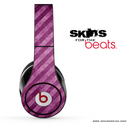 Grungy Purple Striped Skin for the Beats by Dre