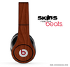 Mahogany Wood Skin for the Beats by Dre