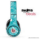Turquoise Pattern Skin for the Beats by Dre