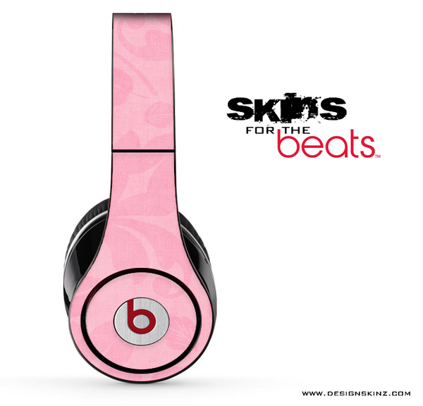 Light Pink Floral Skin for the Beats by Dre