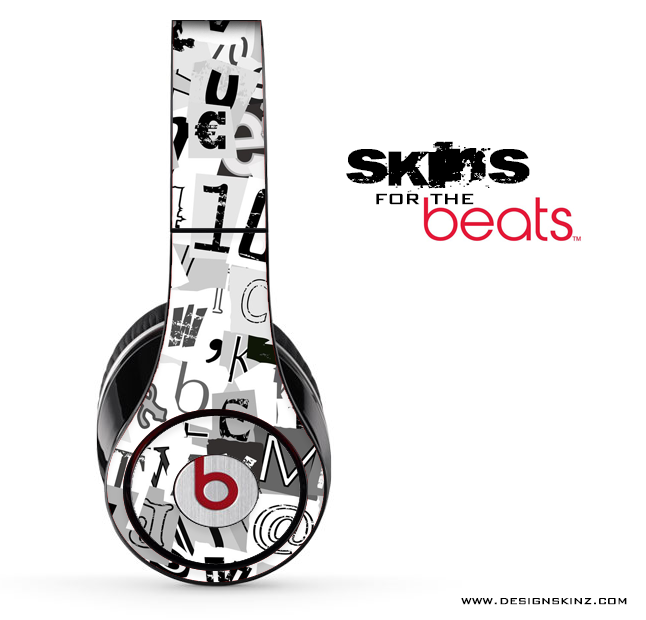 Newspaper Clippings Skin for the Beats by Dre
