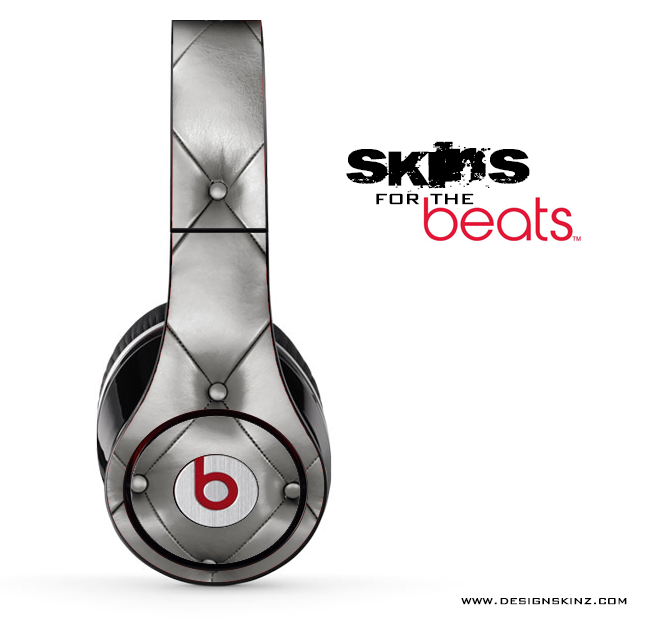 Silver Cushion Skin for the Beats by Dre