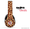 Giraffe Print Skin for the Beats by Dre