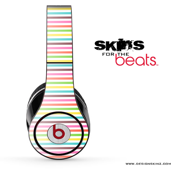 Bright Stripes Skin for the Beats by Dre