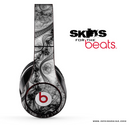 Black Abstract Lace Skin for the Beats by Dre