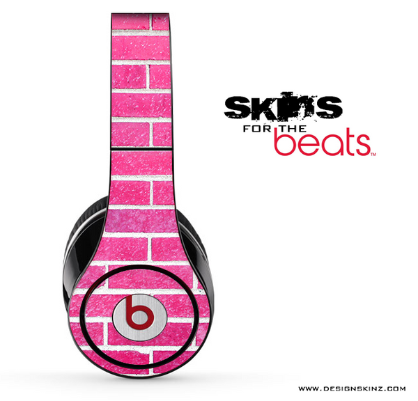 Pink Brick Skin for the Beats by Dre