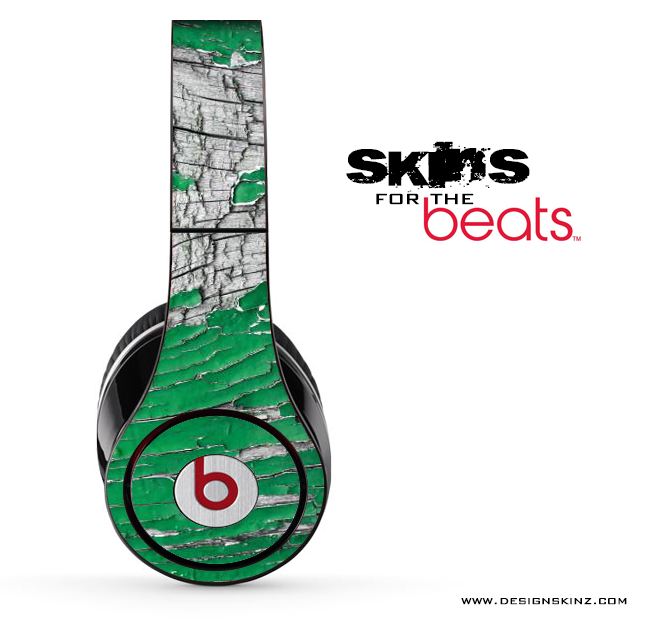 Peeled Green Skin for the Beats by Dre