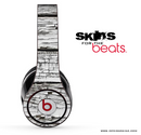 White Slabs Skin for the Beats by Dre