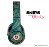 Green Lace Pattern Skin for the Beats by Dre