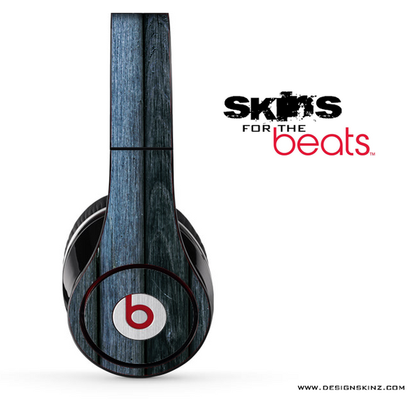 Blue Washed Wood 2 Skin for the Beats by Dre