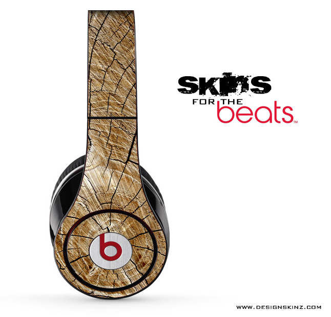 Cracked Wood Skin for the Beats by Dre