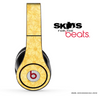 Light Orange Flowers Skin for the Beats by Dre