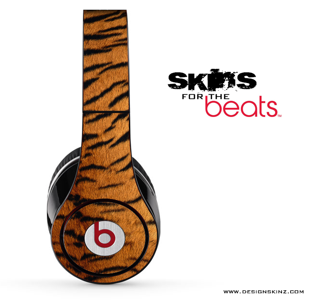 Tiger Print Skin for the Beats by Dre