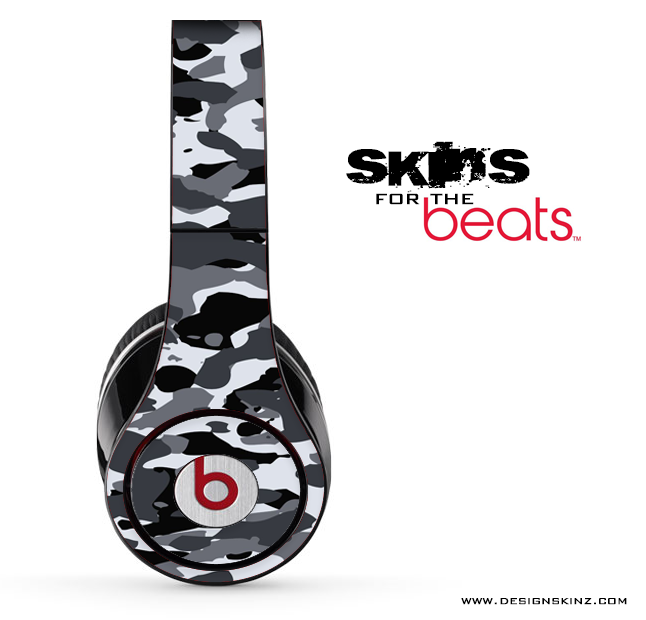 Traditional Snow Camouflage Skin for the Beats by Dre
