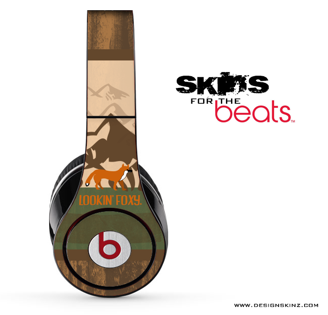 Lauren Pyles - Lookin Foxy Skin for the Beats by Dre