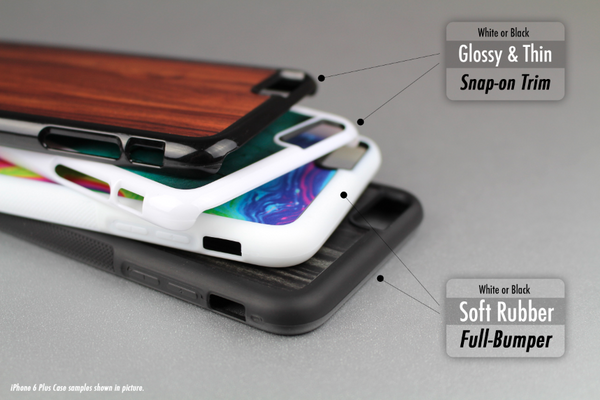 The Colorful Scratched Mustache Pattern Skin-Sert Case for the Apple iPhone 6 Plus