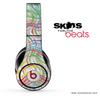 Abstract Turquoise Swirled Skin for the Beats by Dre