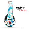 Abstract Turquoise Tiled Skin for the Beats by Dre