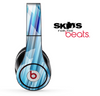 Blue 3D Vector Spikes Skin for the Beats by Dre Solo, Studio, Wireless, Pro or Mixr