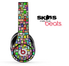 Abstract Color Tiled Skin for the Beats by Dre Solo, Studio, Wireless, Pro or Mixr
