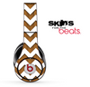 Wood and White Chevron Pattern Skin for the Beats by Dre Solo, Studio, Wireless, Pro or Mixr