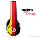 Red, Gold and Black Striped Skin for the Beats by Dre