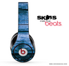 Dark Blue Washed Wood V1 Skin for the Beats by Dre