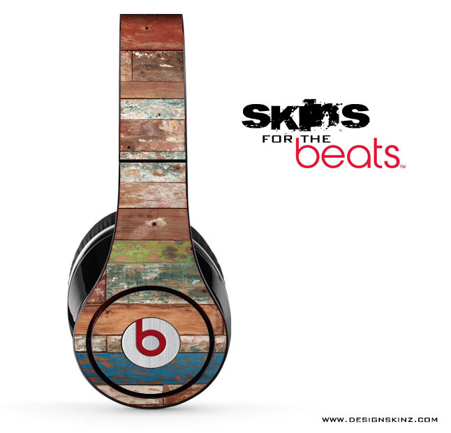 Grungy Wood V1 Skin for the Beats by Dre