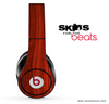 Rich Red Wood V2 Skin for the Beats by Dre