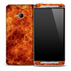 Fury 'n' Flames Skin for the HTC One Phone
