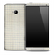 Graph Paper Skin for the HTC One Phone