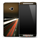 Traffic Blur Skin for the HTC One Phone