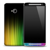 Dark Neon Aurora Skin for the HTC One Phone
