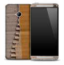 Ripped Cardboard Skin for the HTC One Phone