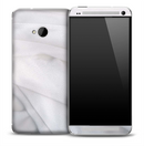 Folded White Sheets Skin for the HTC One Phone