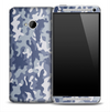 Basic Arctic Camouflage Skin for the HTC One Phone