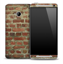 Vintage Brick Skin for the HTC One Phone
