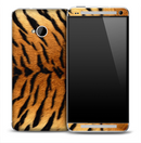 Real Tiger Skin for the HTC One Phone