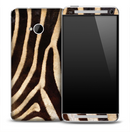 Vintage Zebra Skin for the HTC One Phone