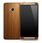 Straight Wood Skin for the HTC One Phone