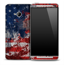 Vintage American Flag Skin for the HTC One Phone