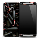 Dark Ammunition Skin for the HTC One Phone