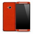 Orange Jersey Skin for the HTC One Phone
