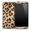 Real Large Cheetah Skin for the HTC One Phone