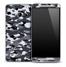 Vintage Arctic Camouflage Skin for the HTC One Phone