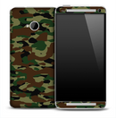 Vintage Army Camouflage Skin for the HTC One Phone