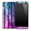 Blue & Purple Boards Skin for the HTC One Phone