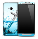 Anchor Splash Skin for the HTC One Phone